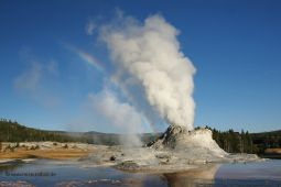 Yellowstone-Geysir