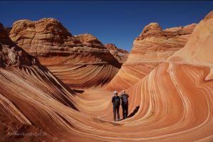 USA-Wave-Sandstein