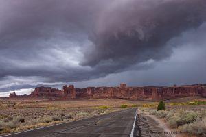 Arches-NP-beeindruckende-Wolken